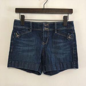 White house black market jeans short